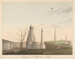 Temple at Aland. 1797